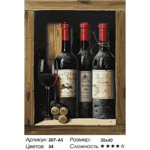 Коллекционное вино Раскраска картина по номерам на холсте Белоснежка