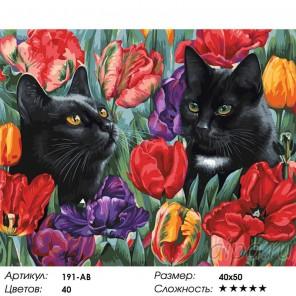 Количество цветов и сложность Среди тюльпанов Раскраска картина по номерам на холсте Белоснежка