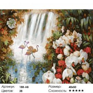 Количество цветов и сложность Райский сад Раскраска картина по номерам на холсте Белоснежка