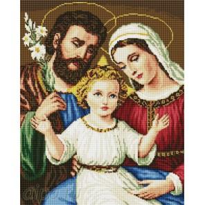 Святое семейство Алмазная мозаика вышивка на подрамнике Painting Diamond
