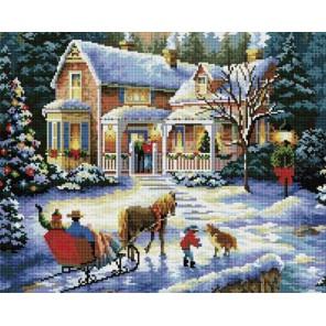 Встреча Рождества Алмазная мозаика вышивка Painting Diamond
