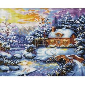Рождественская ночь Алмазная мозаика вышивка Painting Diamond