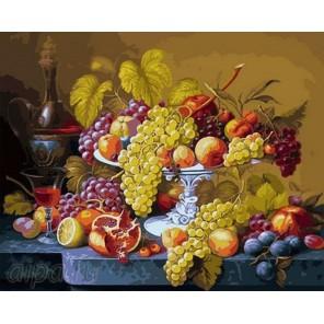 Фруктовое разнообразие Раскраска картина по номерам на холсте