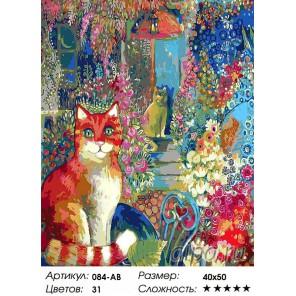 Количество цветов и сложность В городском саду Раскраска ( картина ) по номерам на холсте Белоснежка