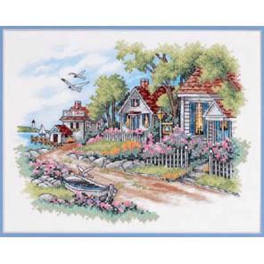 Дом у моря 03240 Набор для вышивания Dimensions ( Дименшенс )