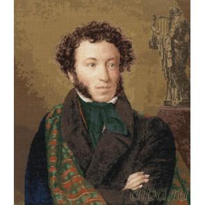 Портрет поэта Пушкина А.С. Набор для вышивания Золотое Руно