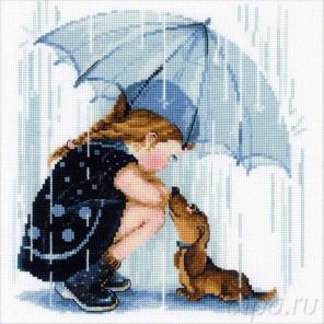 Дождик Набор для вышивания Риолис