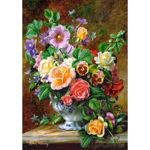 Цветы в вазе Пазлы Castorland