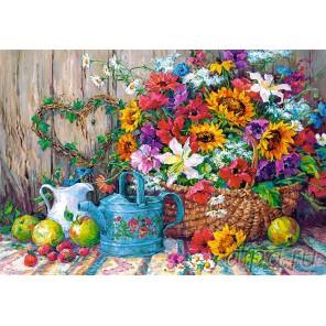 Садовые цветы Пазлы Castorland