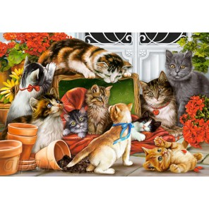 Кошки-мышки Пазлы Castorland