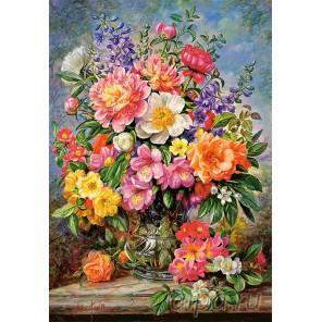 Цветы в сиянии Пазлы Castorland