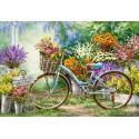 Цветочный март Пазлы Castorland