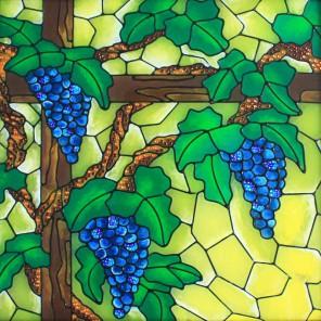 Виноградная лоза Набор с рамкой для создания картины-витража Color Kit