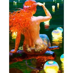 В ожидании принца Раскраска - открытка по номерам с декором Color Kit