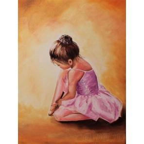 Балерина малышка Алмазная мозаика на подрамнике
