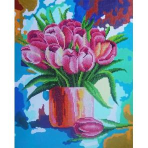 Готовая работа Дыхание весны Алмазная картина-раскраска Color Kit
