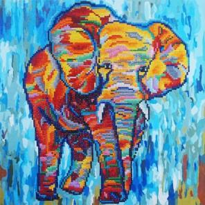 Яркая Африка Алмазная картина-раскраска Color Kit