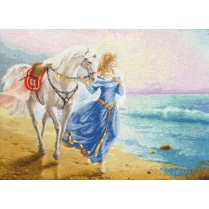 Рассвет у моря Набор для вышивания Золотое Руно