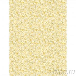Зрелый одуванчик Бумага для декопатча с золотыми вкраплениями Decopatch