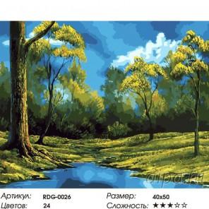 Количество цветов и сложность Заводь Раскраска картина по номерам на холсте