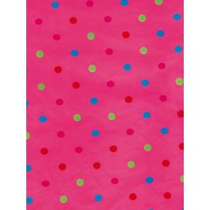 Круги разноцветные на розовом Бумага для декопатча Decopatch