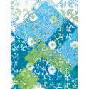 Лоскуты/ Цветочки Бумага для декопатча Decopatch