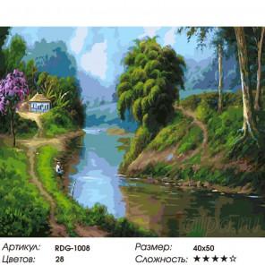 Количество цветов и сложность Наедине с собой Раскраска картина по номерам на холсте