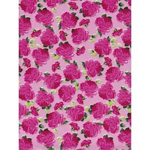 Розы на розовом Бумага для декопатча Decopatch