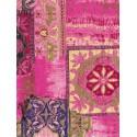 Орнамент на розовом Бумага для декопатча Decopatch