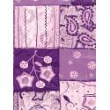 Лоскуты фиолетовые Бумага для декопатча Decopatch