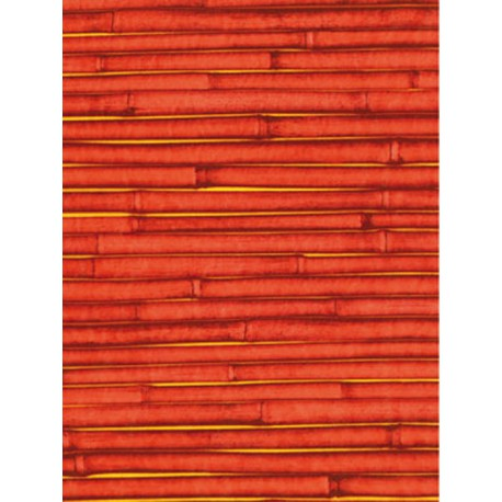 Бамбук красный Бумага для декопатча Decopatch