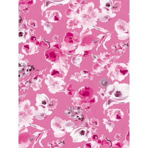 Нежные цветы на розовом Бумага для декопатча Decopatch