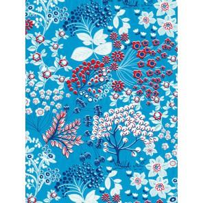 Кустарник на голубом Бумага для декопатча Decopatch