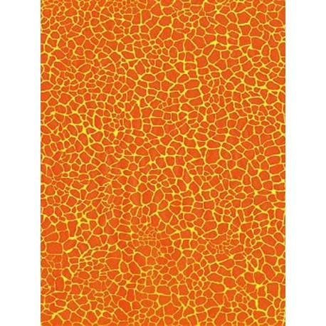 Кракелюр оранжевый Бумага для декопатча Decopatch