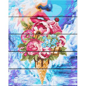 Сладкий букет Картина по номерам на дереве Dali