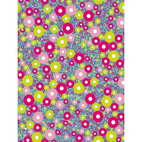 Кружочки разноцветные Бумага для декопатча Decopatch