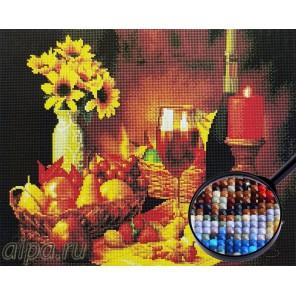 Молодое вино и фрукты Алмазная мозаика вышивка Painting Diamond