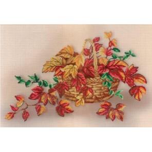 Натюрморт с листьями  Набор для вышивания МП Студия