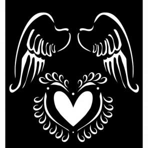 Крылья ангела Трафарет 30598 FolkArt Plaid