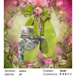Балетные мечты Раскраска картина по номерам Color Kit