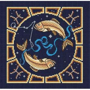Рыбы Набор для вышивания бисером МП Студия