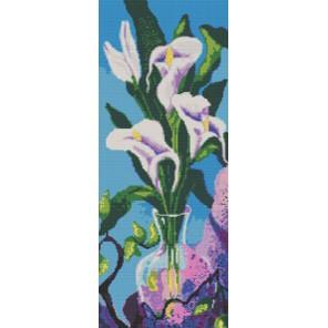 Каллы Канва с рисунком для вышивки бисером Конек