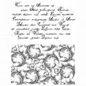 Письмо Силиконовые штампыдля скрапбукинга, кардмейкинга Viva Decor