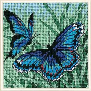 Пара бабочек 07183 Набор для вышивания Dimensions ( Дименшенс )