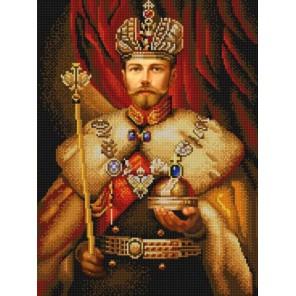 Николай Второй Канва с рисунком для вышивки бисером Конек