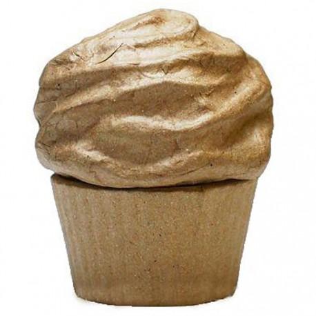 Пирожное 8х10 Фигурка из папье-маше объемная