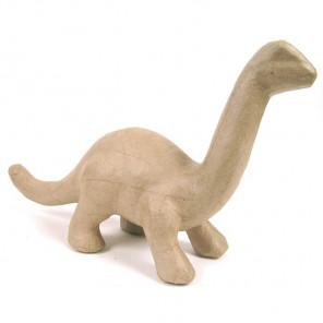 Динозавр малая Фигурка из папье-маше объемная Decopatch
