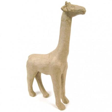 Жираф 7х19х28 Фигурка из папье-маше объемная