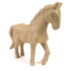 Лошадь малая Фигурка из папье-маше объемная Decopatch
