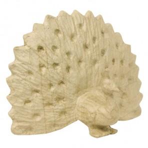 Павлин малая Фигурка из папье-маше объемная Decopatch